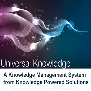 Knowledge Management Universal Knowledge Poster
